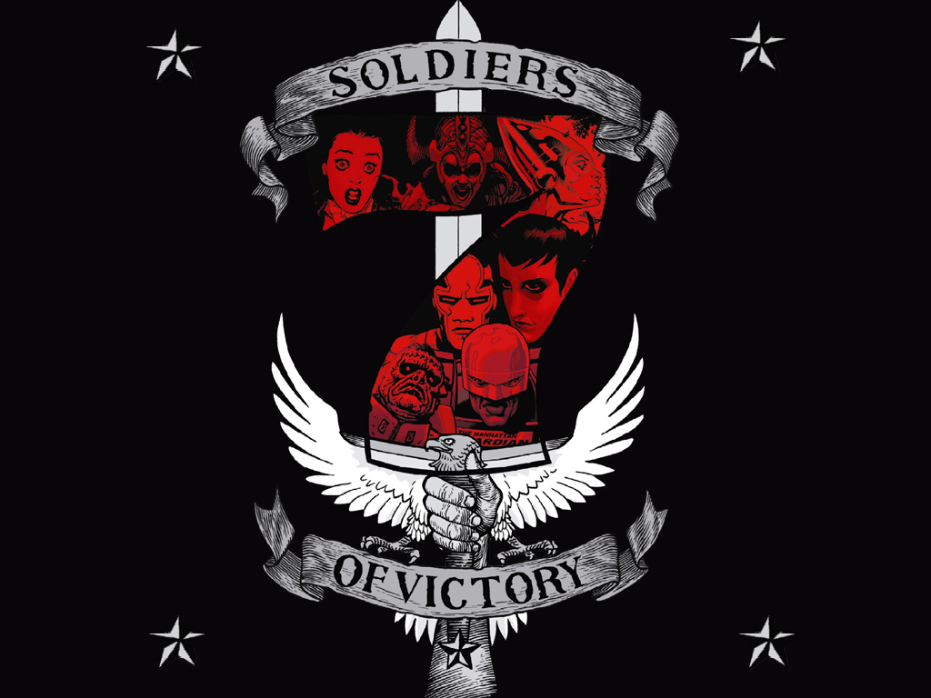 Comics Wallpaper: Soldiers of Victory