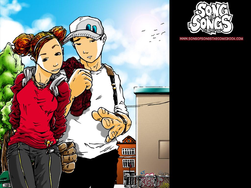 Comics Wallpaper: Song of Songs - Kay and Isaiah