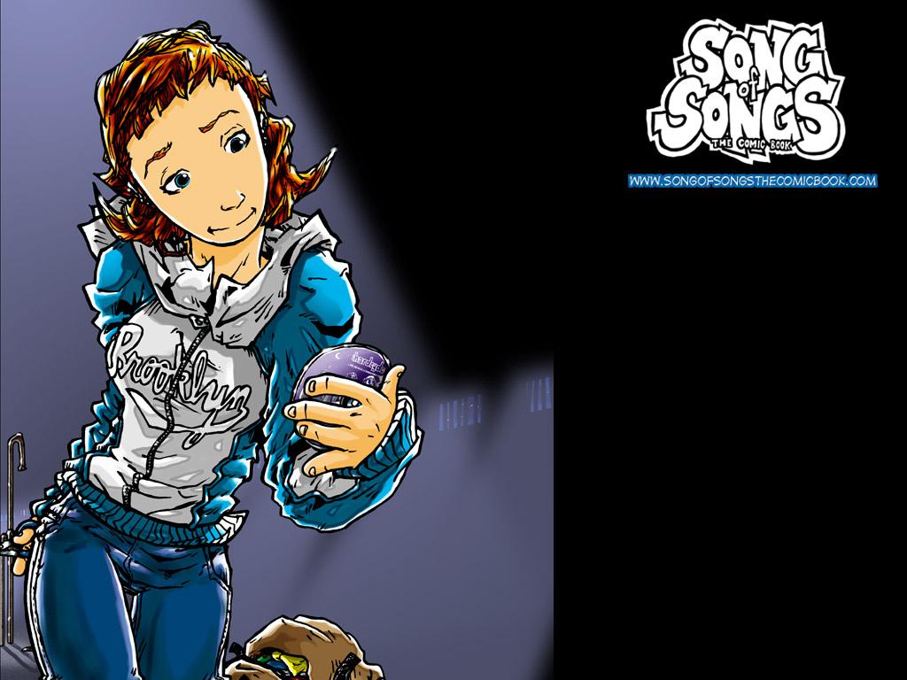 Comics Wallpaper: Song of Songs - Kay