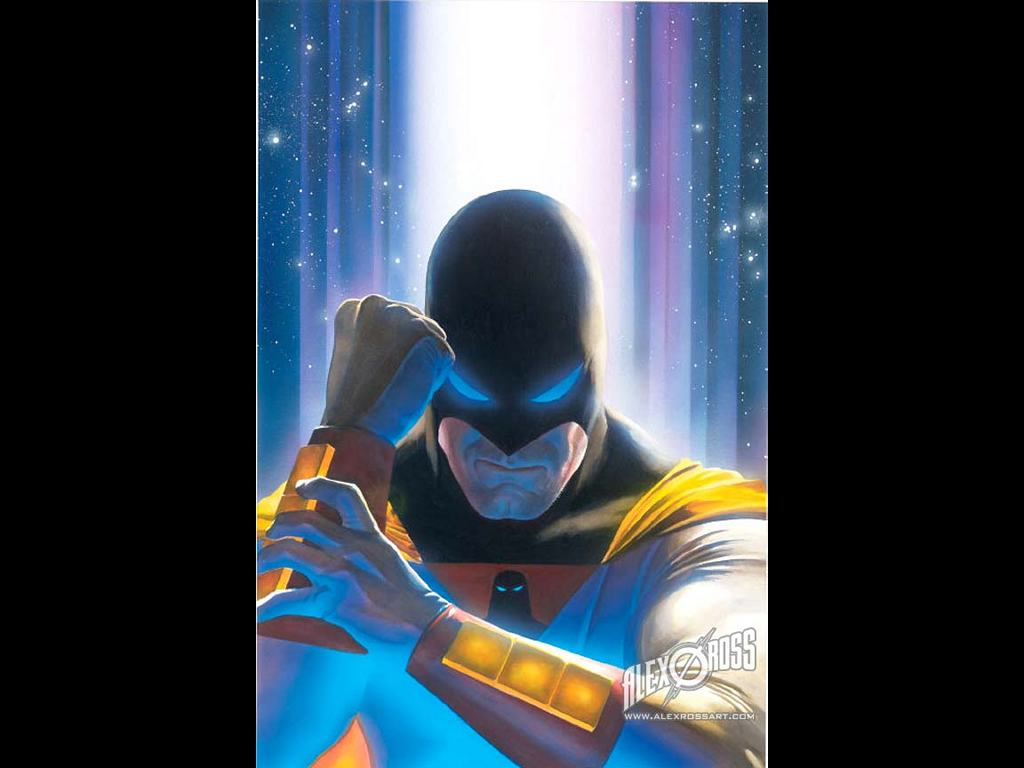 Comics Wallpaper: Space Ghost by Alex Ross