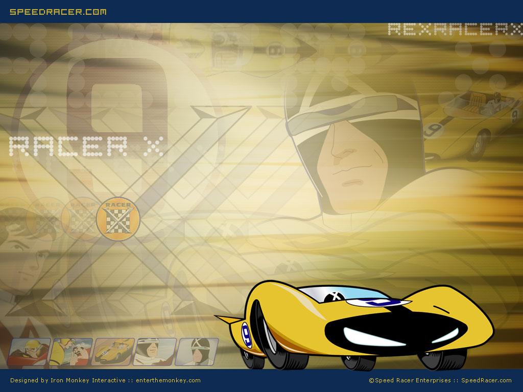 Comics Wallpaper: Speed Racer - Racer X