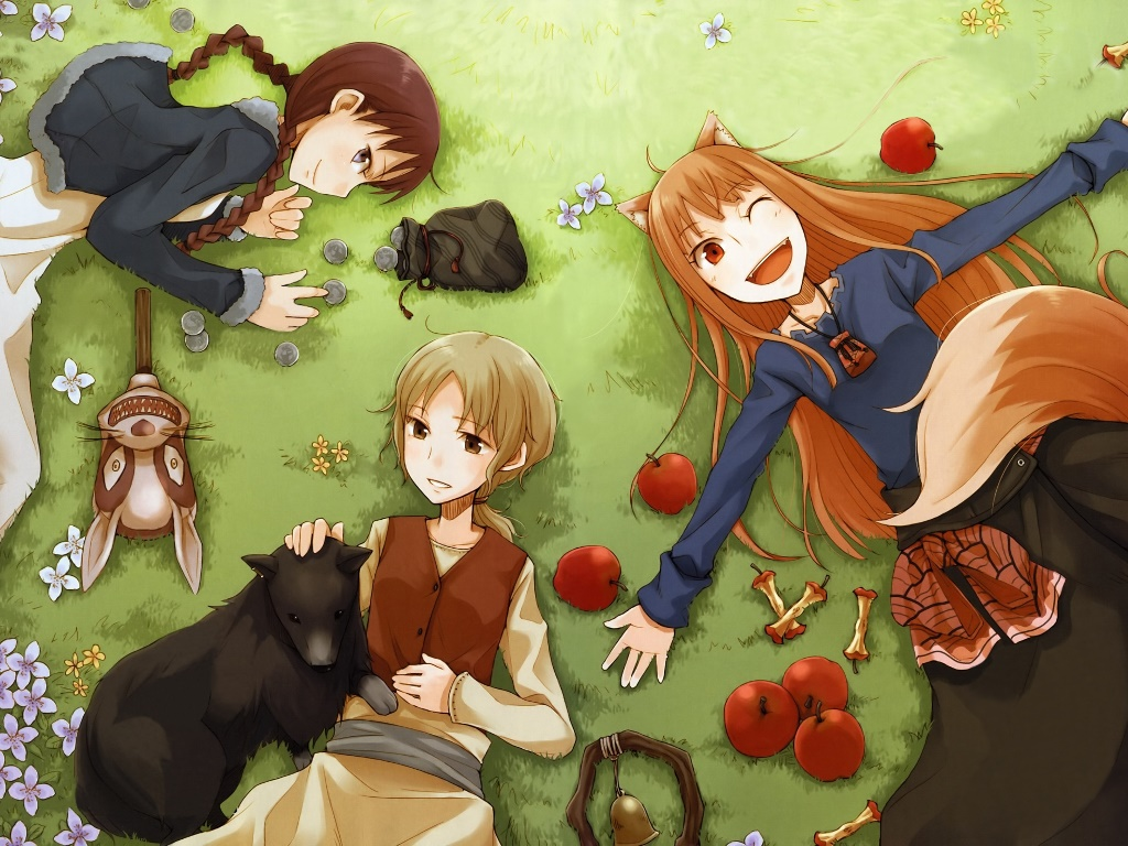 Comics Wallpaper: Spice and Wolf