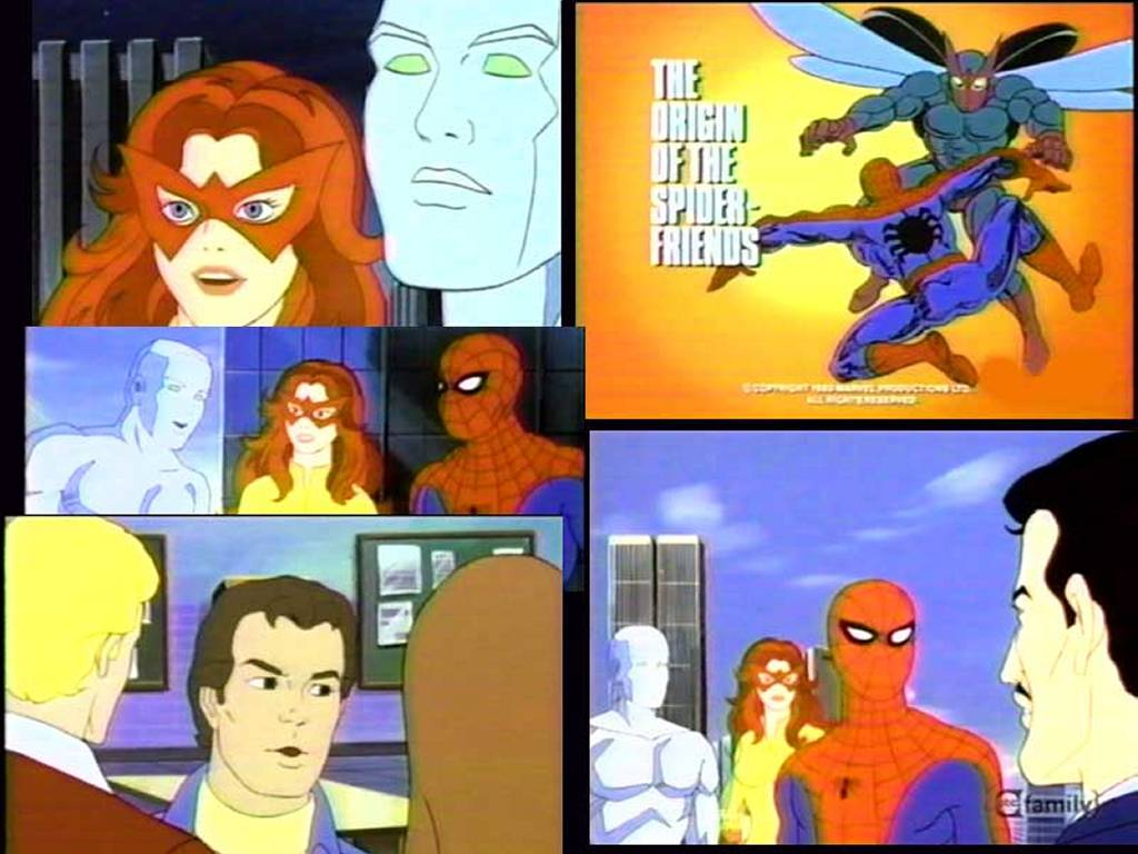 Comics Wallpaper: Spider-Friends