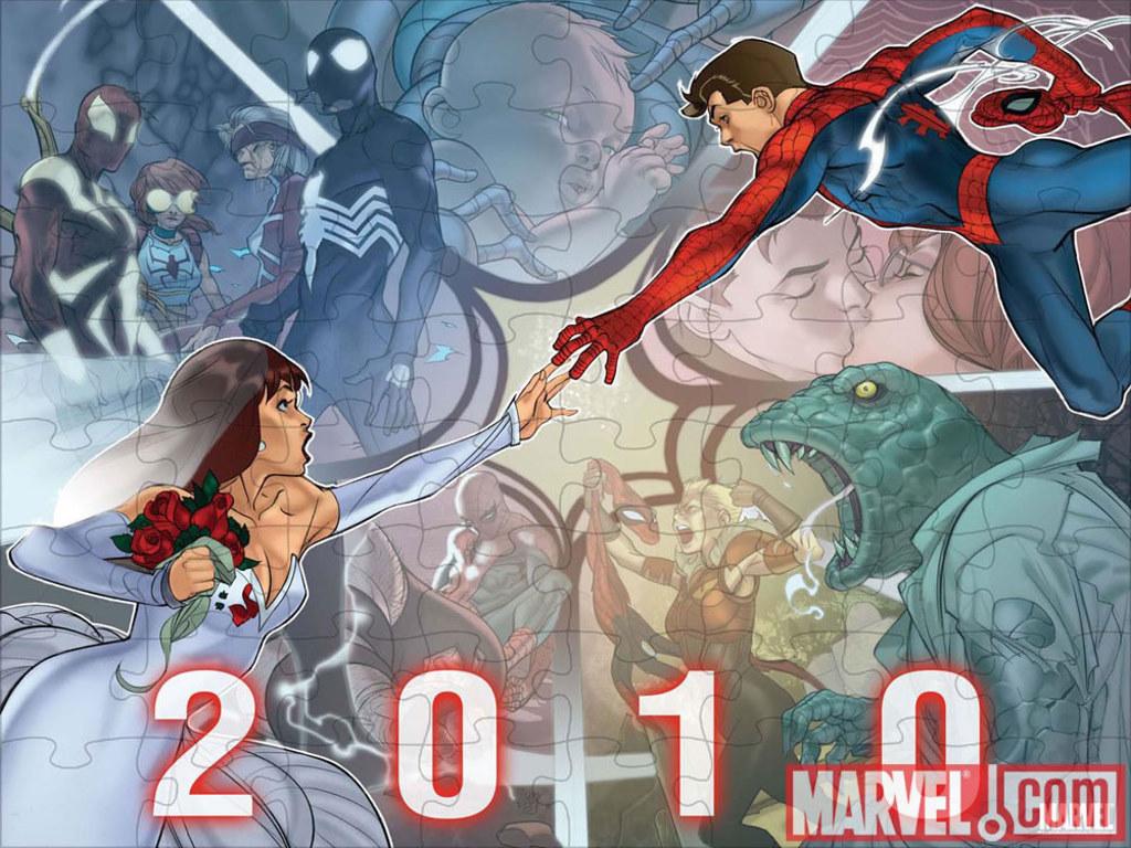 Comics Wallpaper: Spider-Man 2010