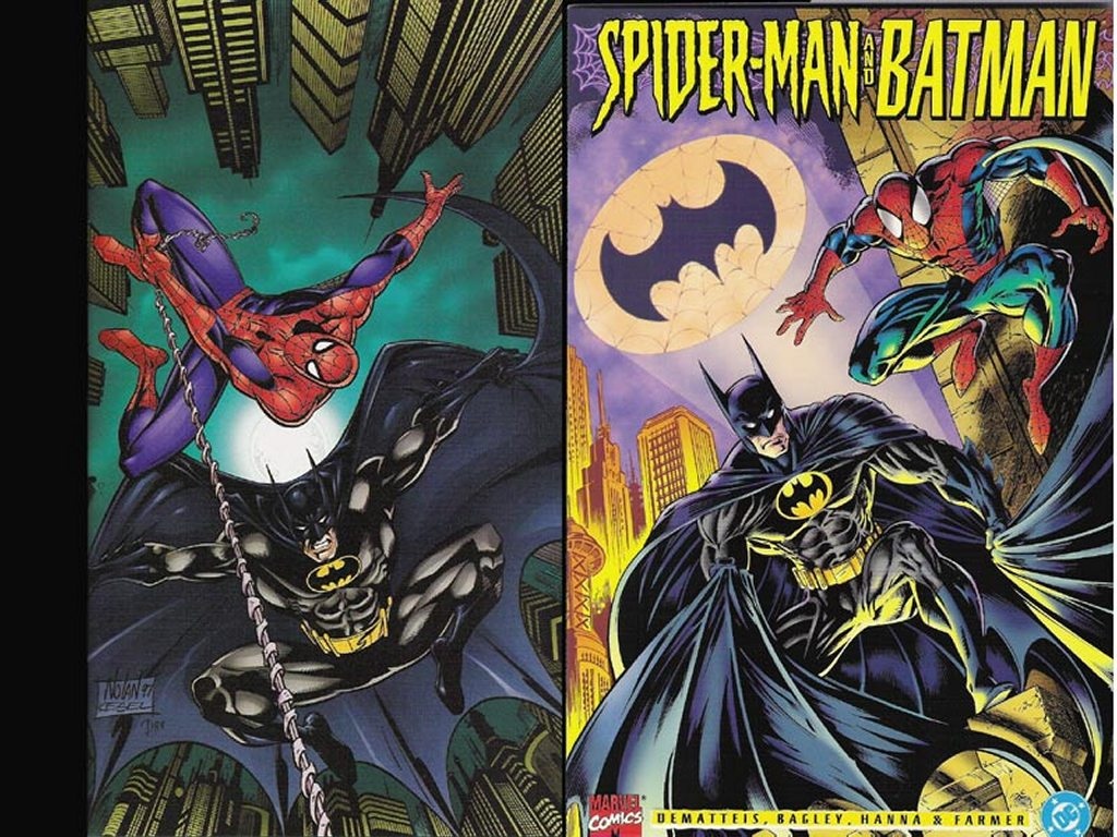 Comics Wallpaper: Spider-Man and Batman