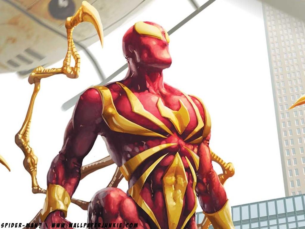 Comics Wallpaper: Spider-Man - Armor