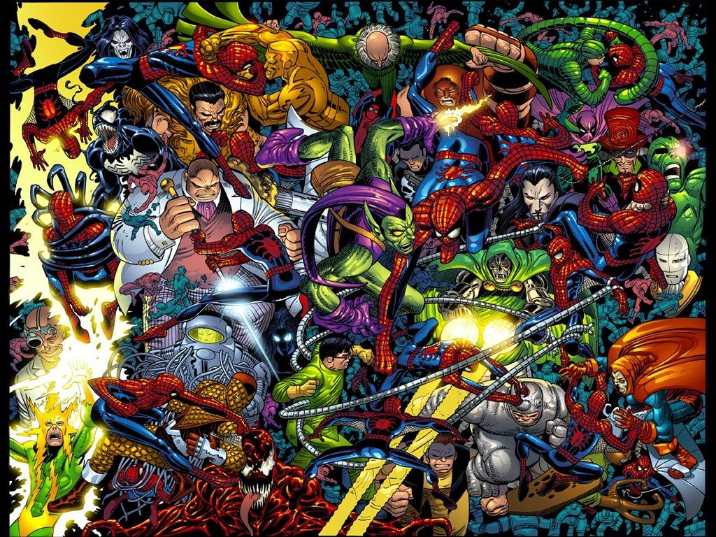 Comics Wallpaper: Spider-Man by John Romita Jr.