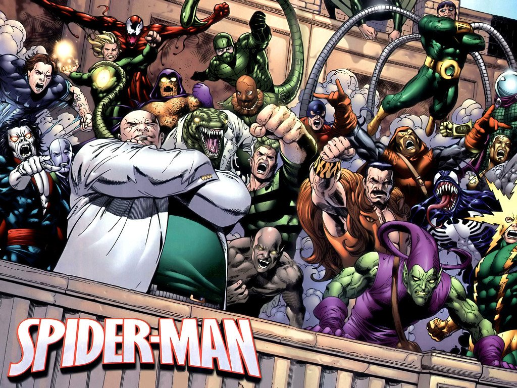 Comics Wallpaper: Spider-Man - Villains