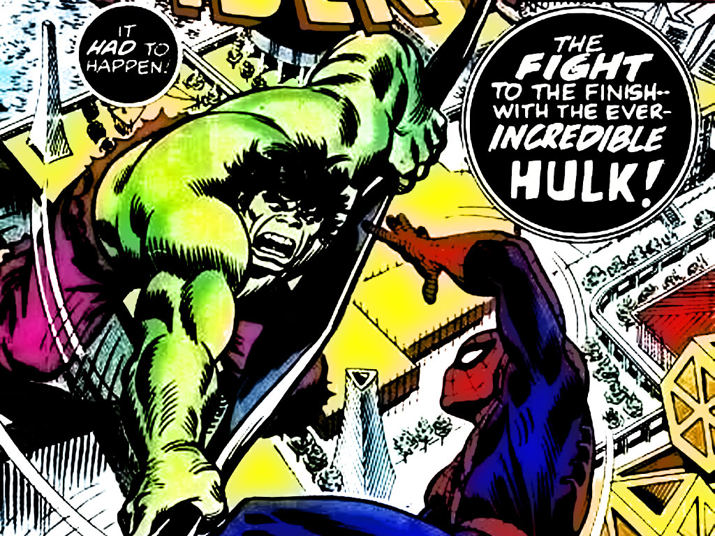 Comics Wallpaper: Spider-Man vs. Hulk