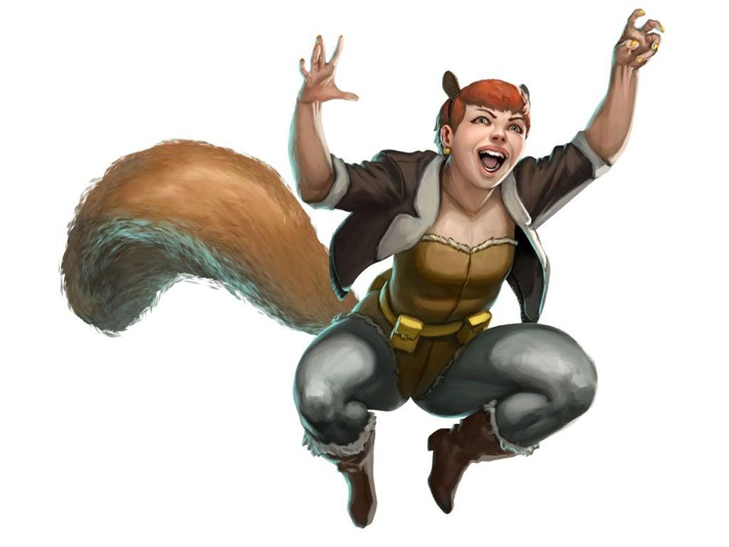 Comics Wallpaper: Squirrel Girl