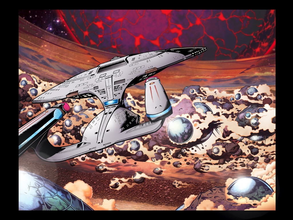 Comics Wallpaper: Star Trek - The New Generation