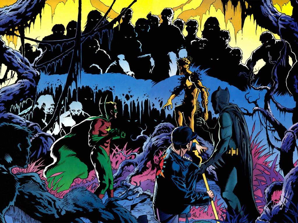 Comics Wallpaper: Starman and Batman