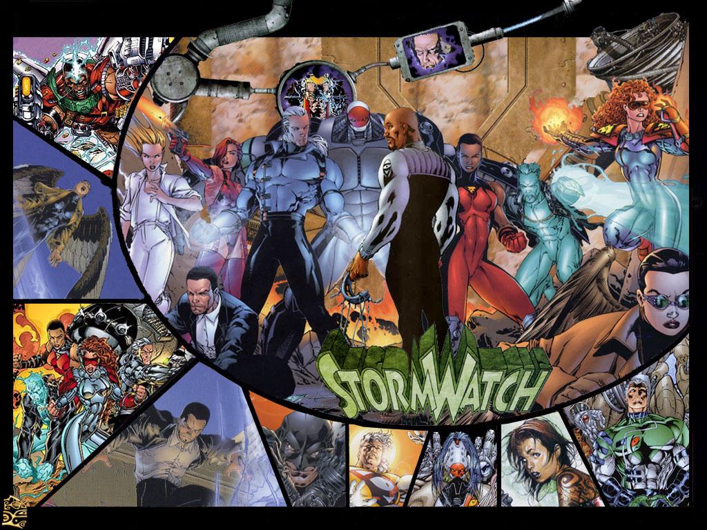 Comics Wallpaper: StormWatch