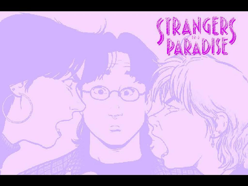 Comics Wallpaper: Strangers in Paradise