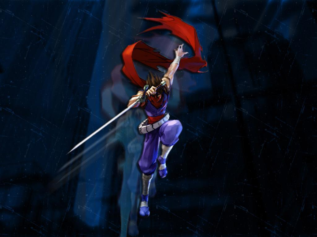 Comics Wallpaper: Strider Hiryu