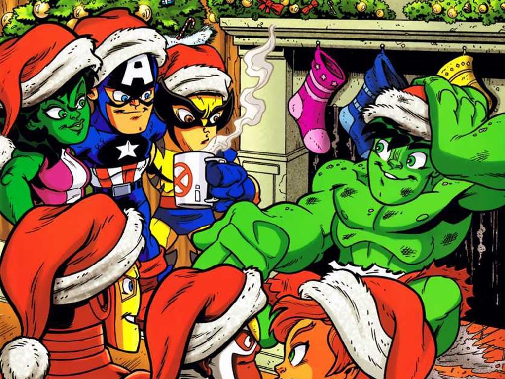 Comics Wallpaper: Super-Hero Squad - Christmas