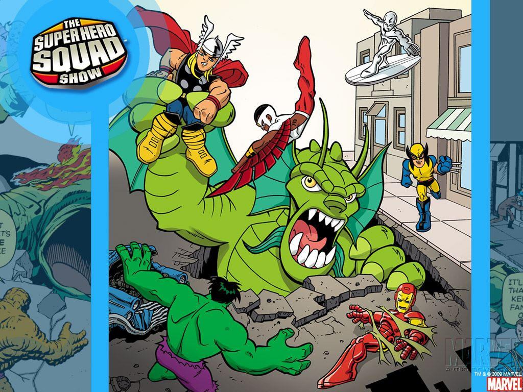Comics Wallpaper: Super Hero Squad Show