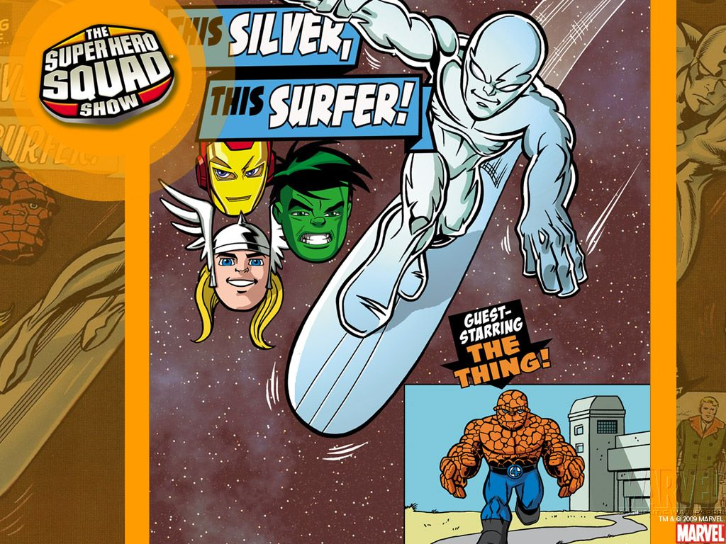 Comics Wallpaper: The Superhero Squad Show