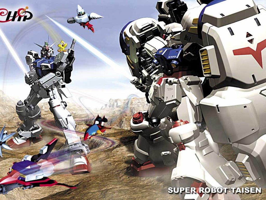 Comics Wallpaper: Super Robot Taisen