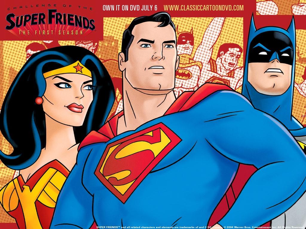 Comics Wallpaper: Superfriends