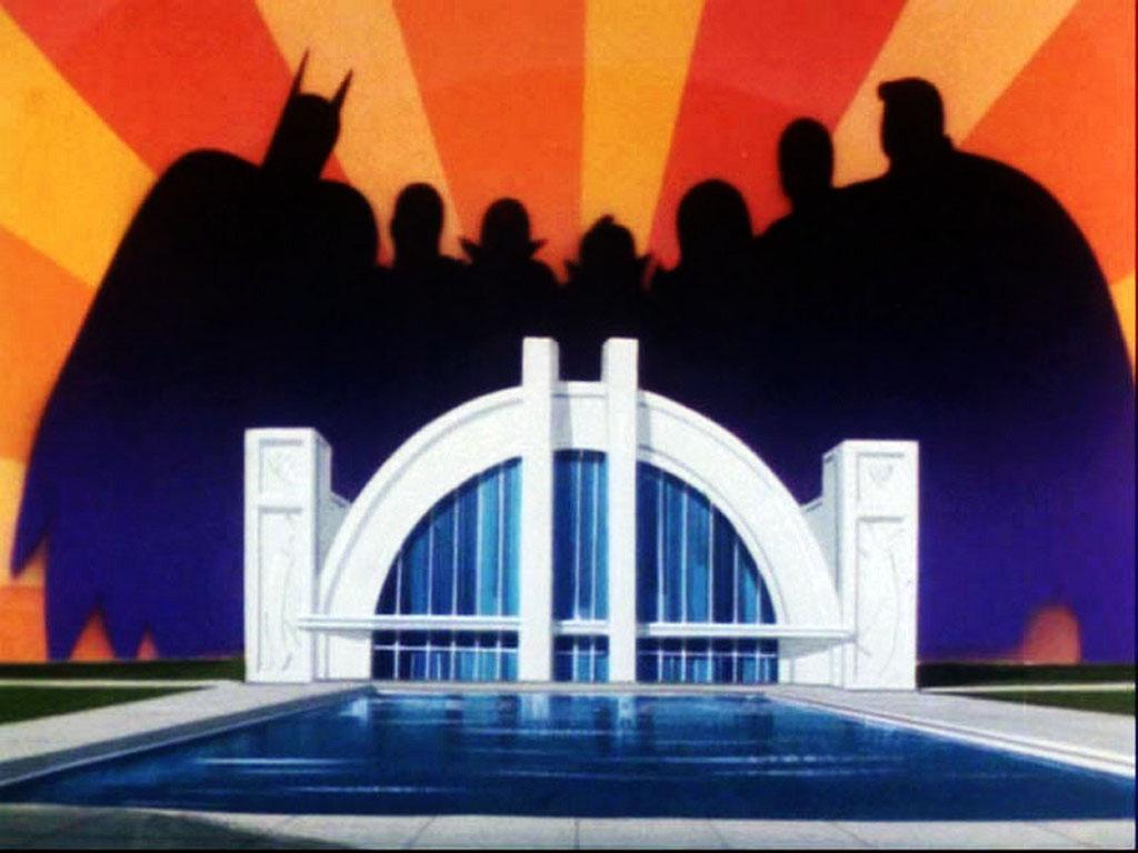 Comics Wallpaper: Superfriends - Hall of Justice