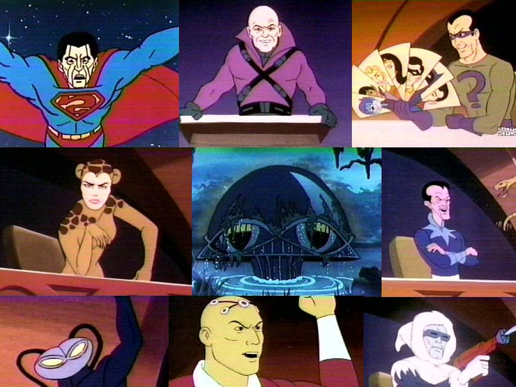 Comics Wallpaper: Superfriends - Legion of Doom