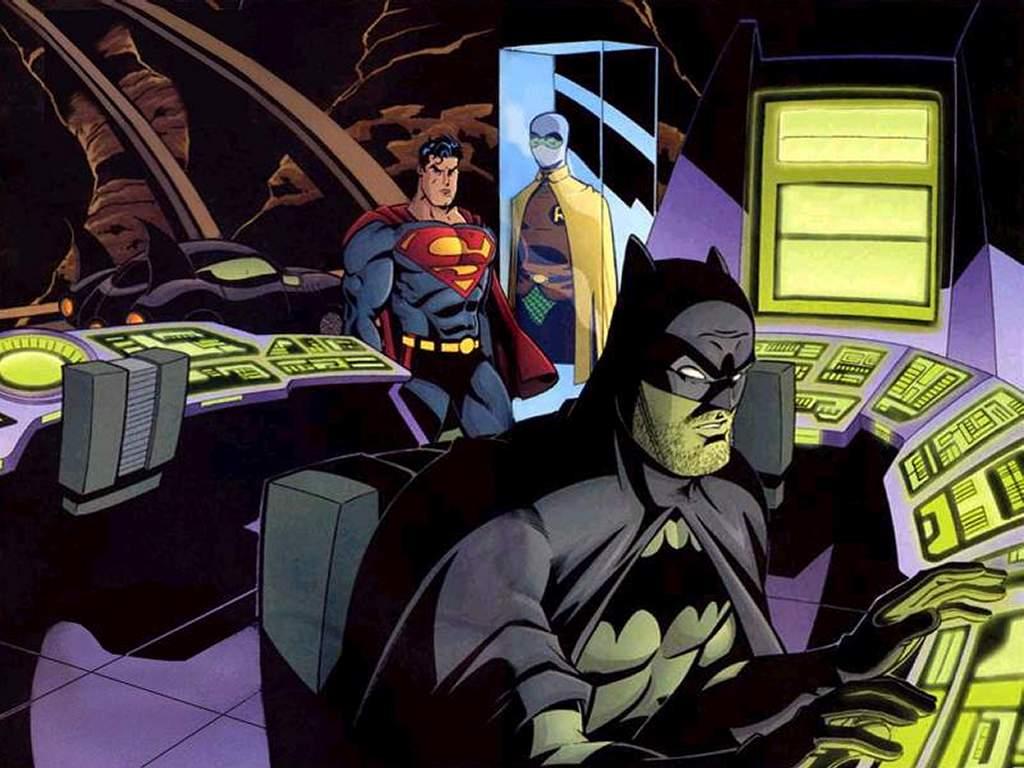 Comics Wallpaper: Superman and Batman