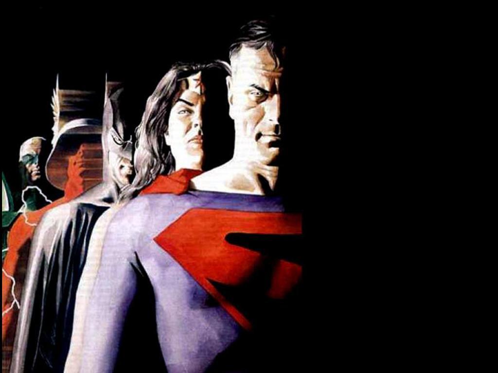 Comics Wallpaper: Superman and Friends