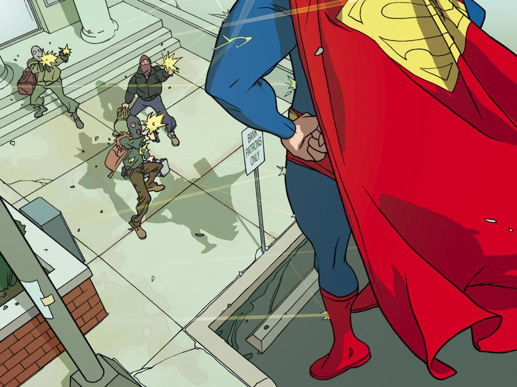 Comics Wallpaper: Superman - Bulletproof