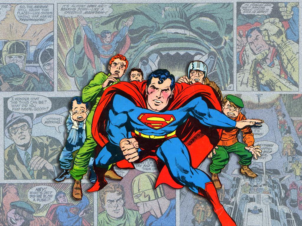 Comics Wallpaper: Superman by Jack Kirby