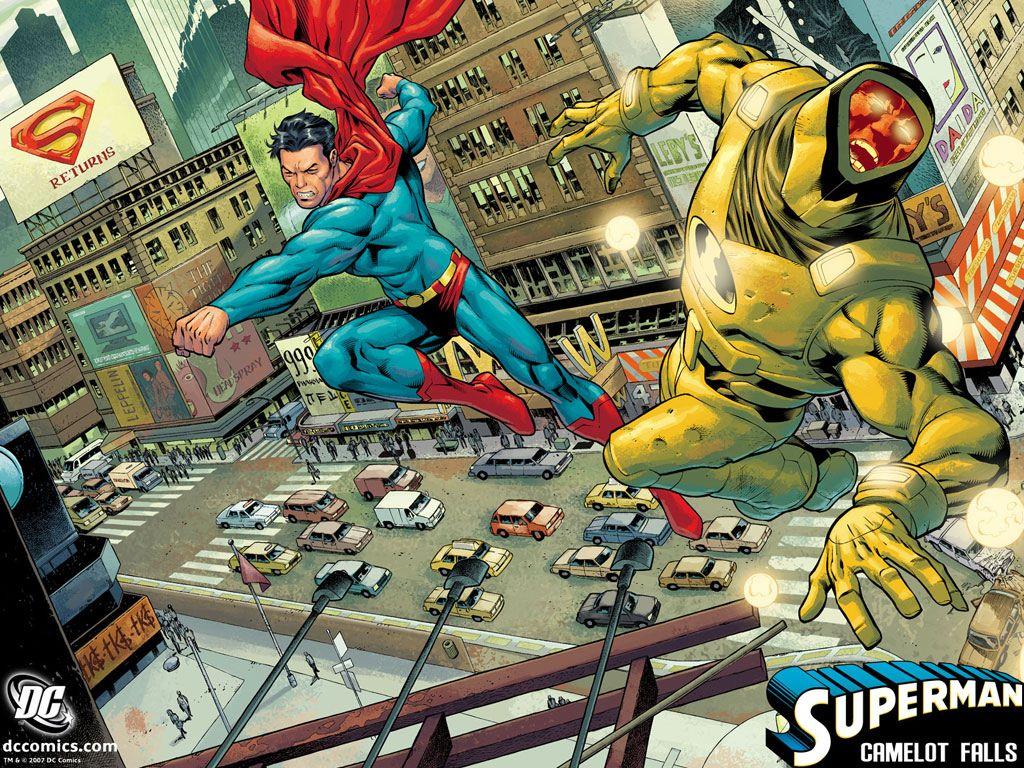 Comics Wallpaper: Superman - Camelot Falls