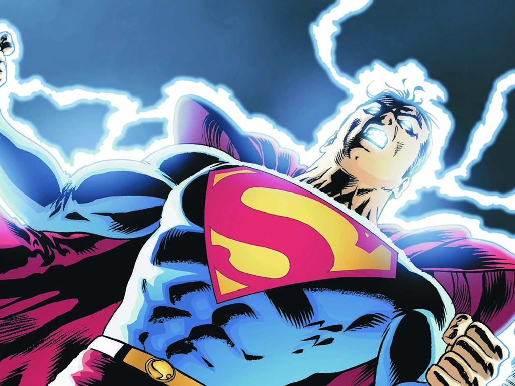 Comics Wallpaper: Superman - Shock