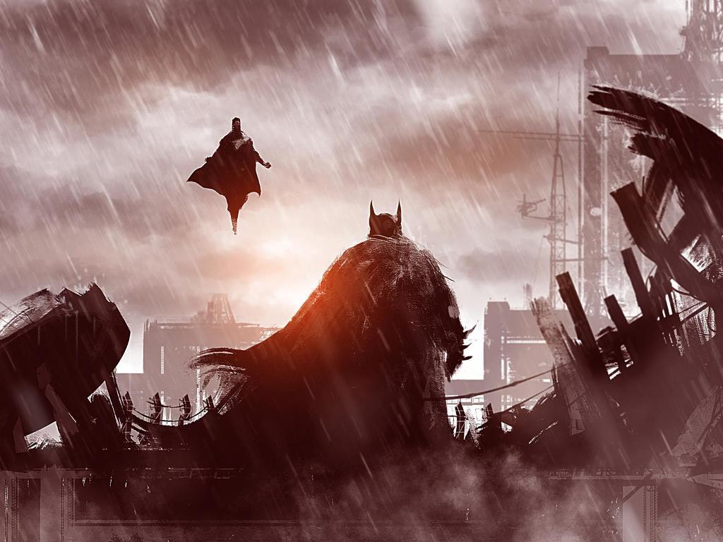 Comics Wallpaper: Superman vs Batman