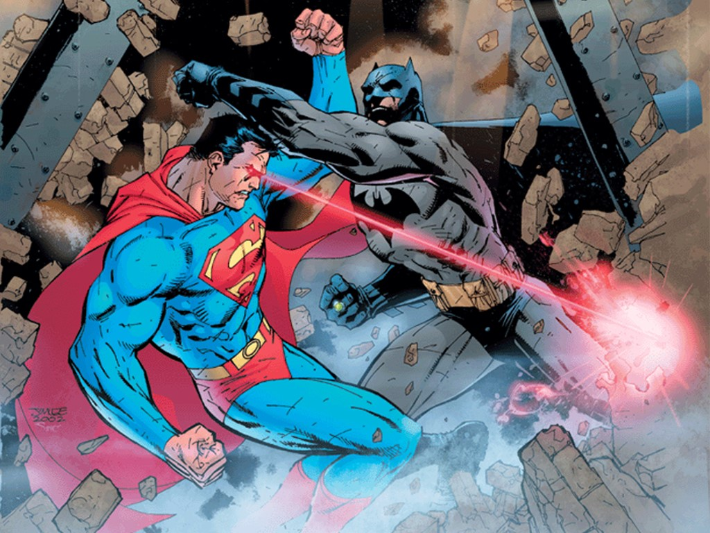 Comics Wallpaper: Superman vs Batman