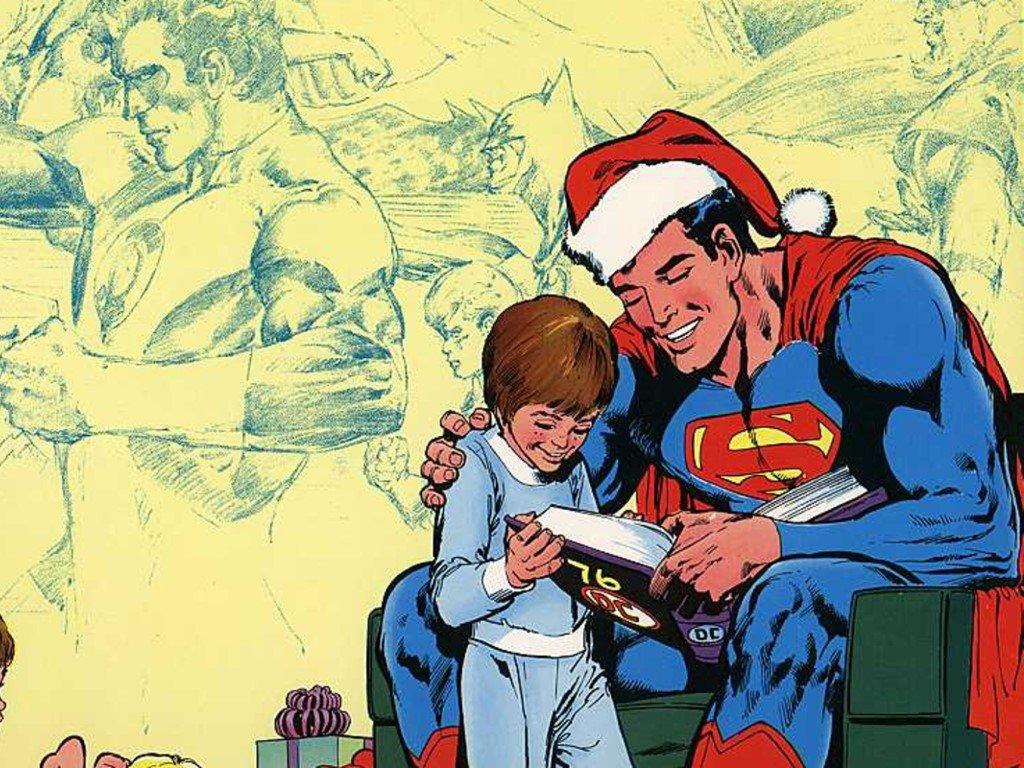 Comics Wallpaper: Superman - Christmas Tales