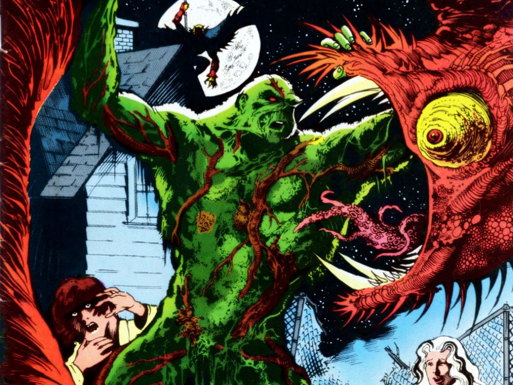 Comics Wallpaper: Swamp Thing