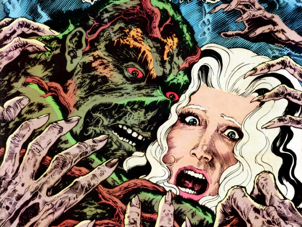 Comics Wallpaper: Swamp Thing