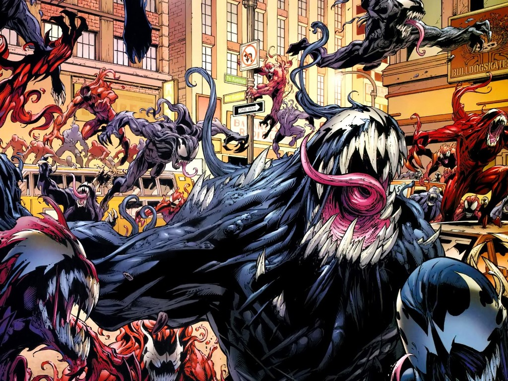 Comics Wallpaper: Symbiotes
