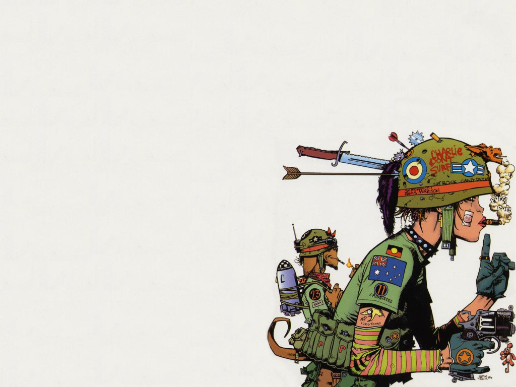 Comics Wallpaper: Tank Girl