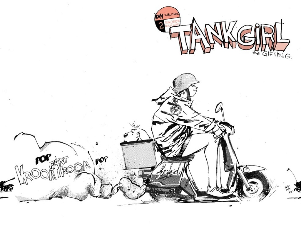 Comics Wallpaper: Tank Girl