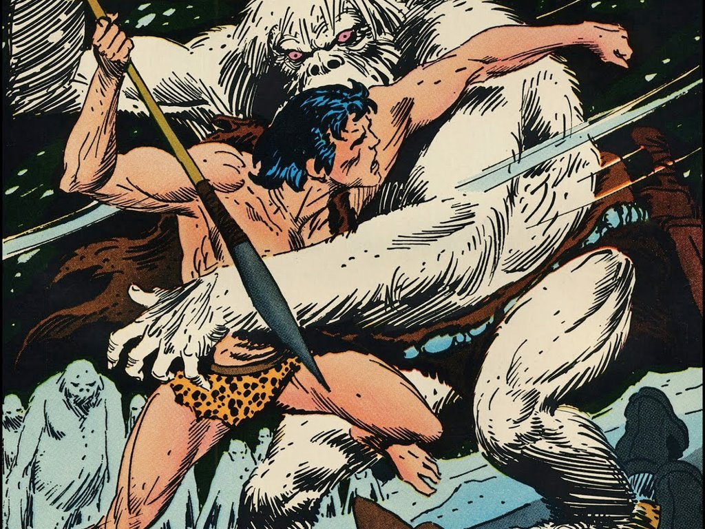 Comics Wallpaper: Tarzan (by Joe Kubert)