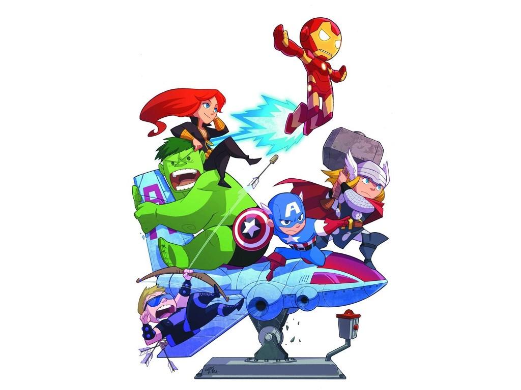Comics Wallpaper: Teen Avengers