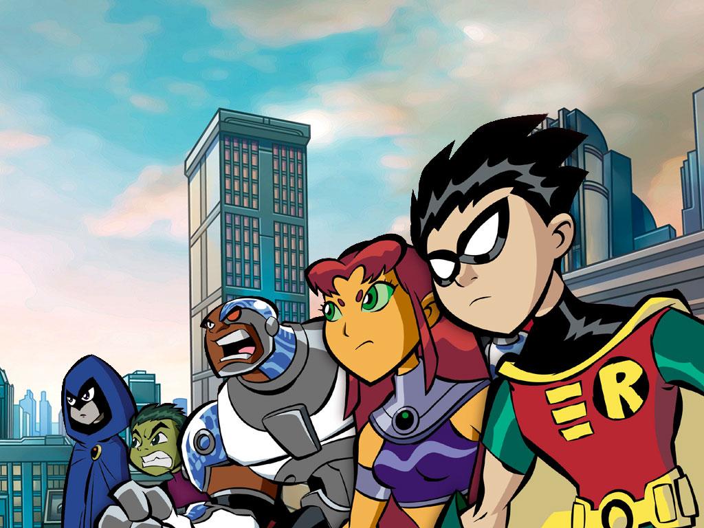 Comics Wallpaper: Teen Titans - Animated