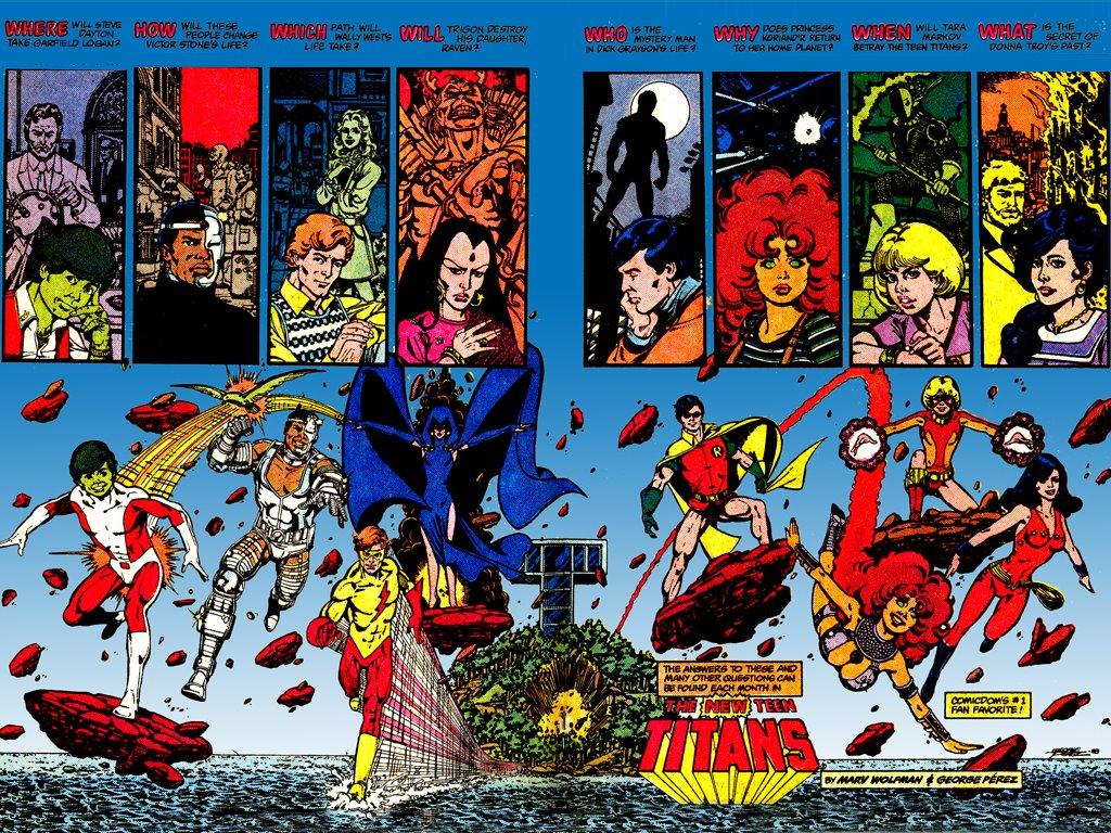 Comics Wallpaper: Teen Titans - Classic