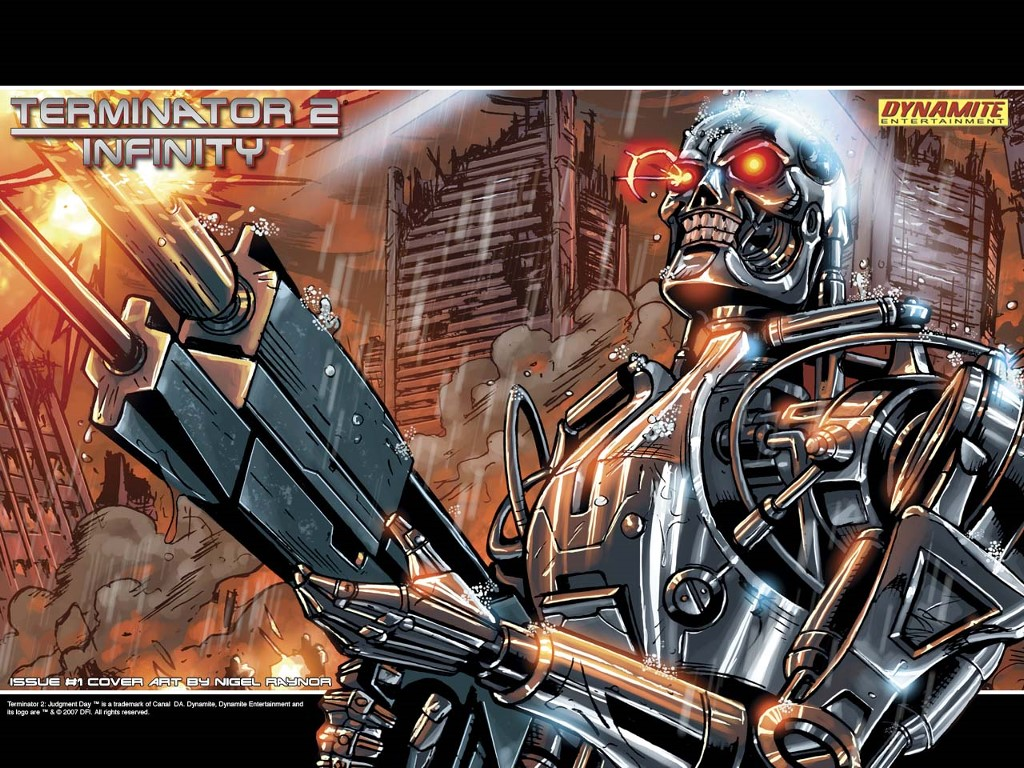 Comics Wallpaper: Terminator 2 - Infinity