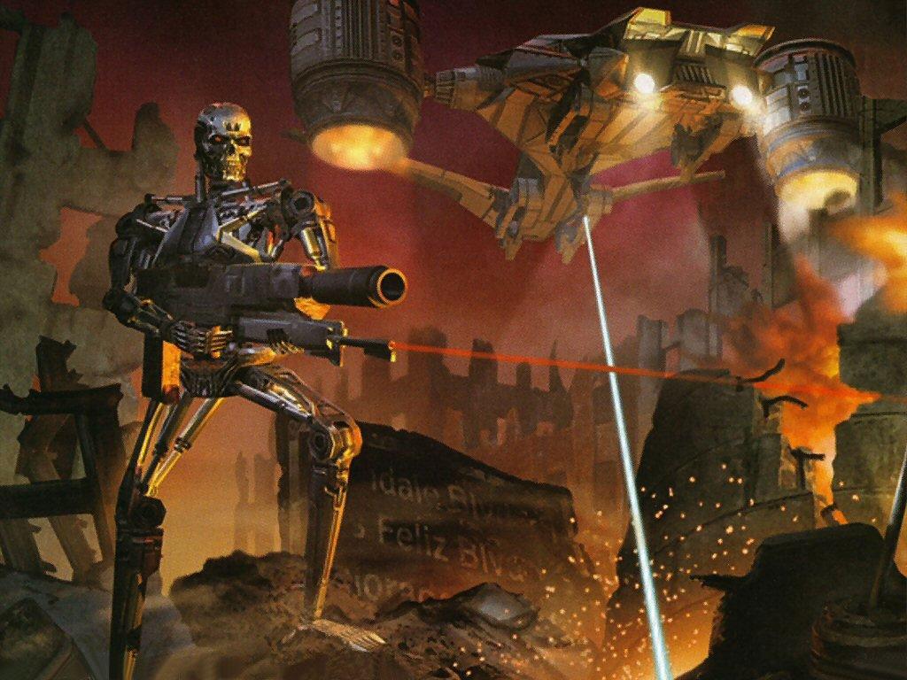 Papel de Parede Gratuito de Quadrinhos : Exterminador do Futuro