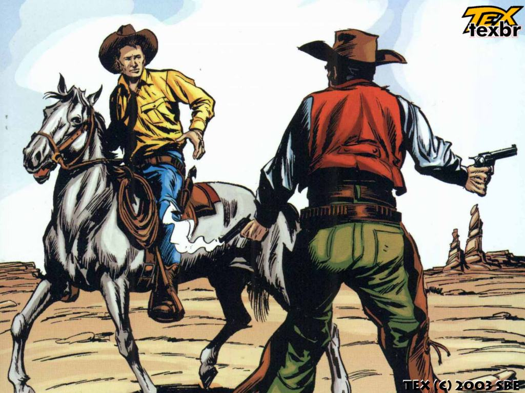 Comics Wallpaper: Tex