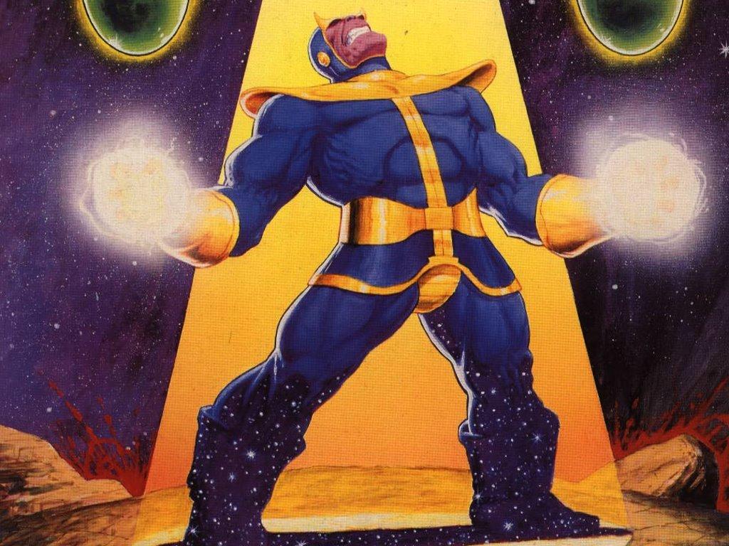Comics Wallpaper: Thanos