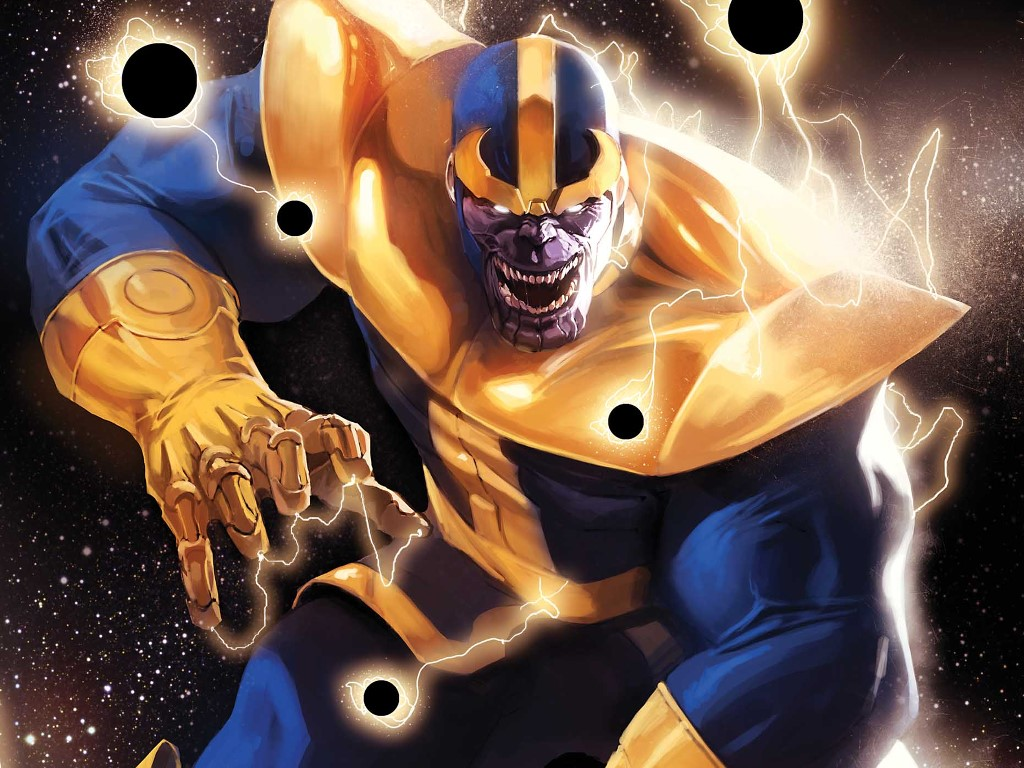 Comics Wallpaper: Thanos Rising