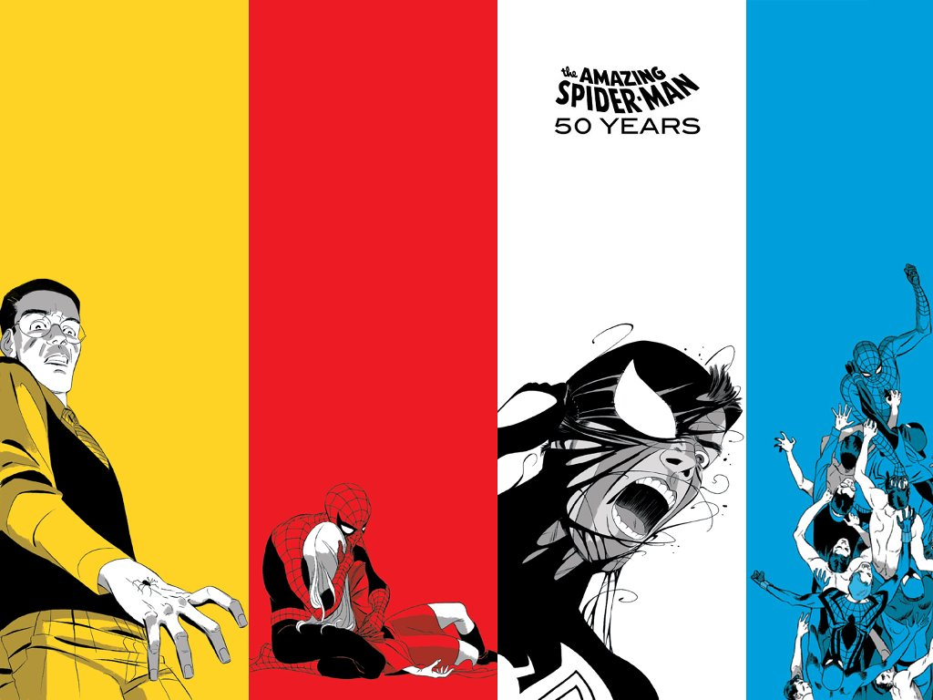 Comics Wallpaper: The Amazing Spider-Man - 50 Years